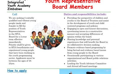 Call for Youth Representatives